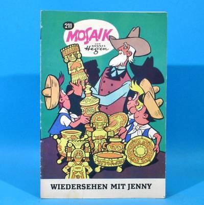 Mosaik 211 Digedags Hannes Hegen Originalheft | DDR | Sammlung original MZ 13