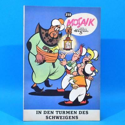 Mosaik 219 Digedags Hannes Hegen Originalheft | DDR | Sammlung original MZ 39