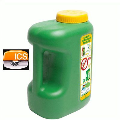 Tanque Latas Envase 5Lt para Colección Aceites Bov de Freír - Adhesivo...