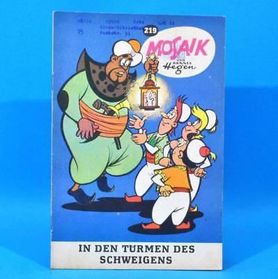 Mosaik 219 Digedags Hannes Hegen Originalheft | DDR | Sammlung original MZ 19