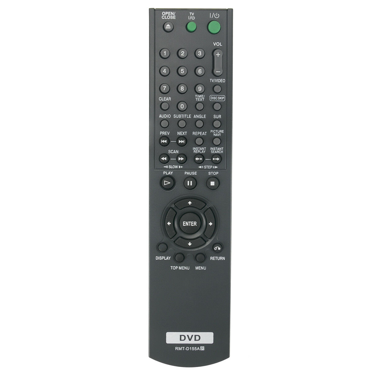 New RMT-D155A Replace Remote Control for Sony CD DVD Player