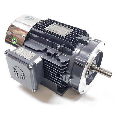 Techtop Cb3-al-tf-56hc-2-b-d-3 Cobra Electric Motor 3hp 3600rpm 230460v