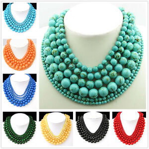 Green-Turquoise-Red-Coral-Black-Onyx-Natural-Agate-Wholesale-400mm-Beads-String