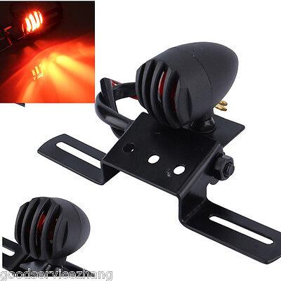 New Black Motorcycle Brake Stop Rear Tail Light Taillight Indicator Signal Lamp