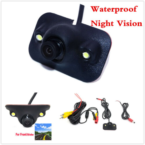 170° CCD HD Car Front View Side View Blind Spot Camera Waterproof Night Vision
