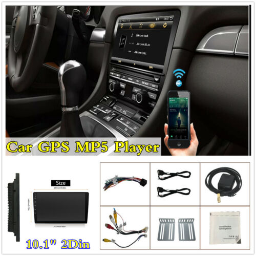 """Android 9.1 Quad-Core 10.1"""" HD Touch Screen Car GPS Navigation Wifi Radio Stereo"""
