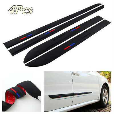 Soft Rubber Anti-Scratch Strip Car Door Side Body Guards Protector Trim Cover