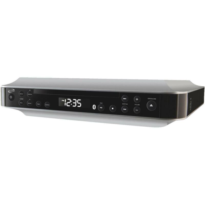 iLive IKBC384S Bluetooth Wireless Under Cabinet Radio Music System w/ CD Player