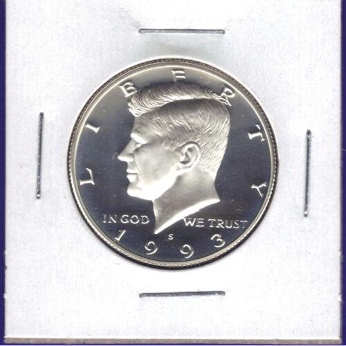 1993-S Proof Kennedy Half Dollar