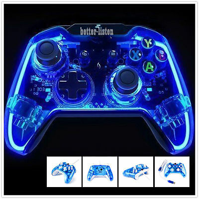 Glow USB Wired Controller Gamepad Joypad For Microsoft Xbox One/PC Win 7 8 10 US
