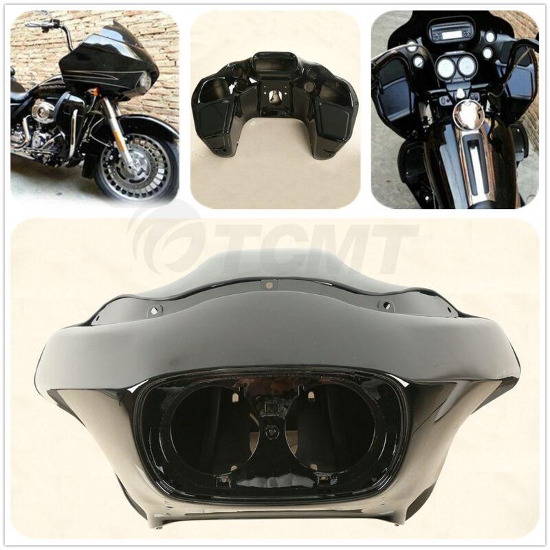 Black Abs Injection Inner Amp Outer Fairing For Harley Fltr