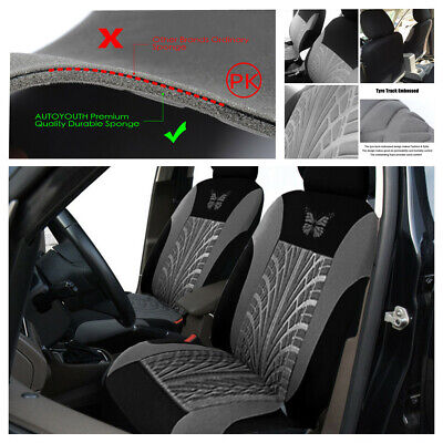 2Pcs Car Seat Cover Butterfly Pattern Cushion Universal Car SUV Protector Covers