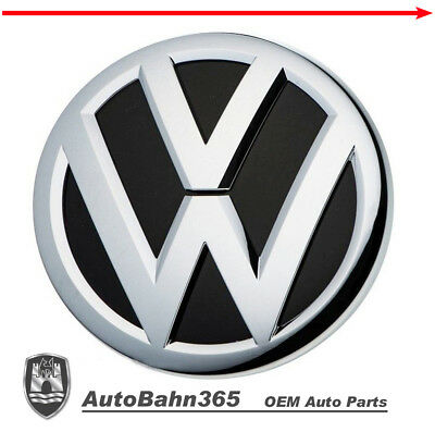 New OEM VW Front Grille Emblem fits most Jetta 2015-17, exc. w/Collision Warning