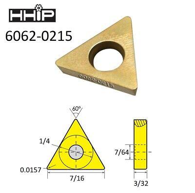 Tdex 21.5 Tin Coated C-5 Carbide Insert 6062-0215
