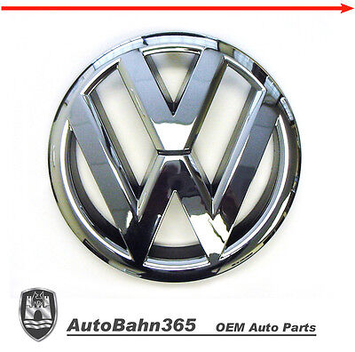 New Genuine OEM VW Emblem Jetta-Sedan 2011-14 MK6 Front Grill Badge 5C6853601ULM