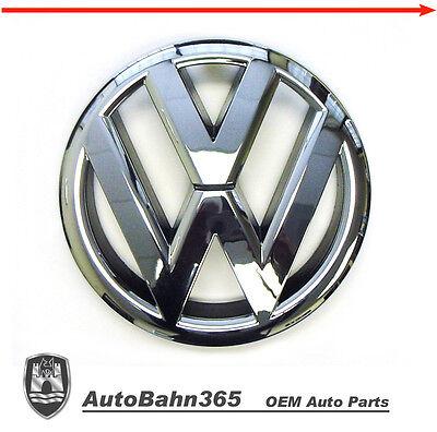 New Genuine VW Emblem Jetta Sedan 2011 14 MK6 Volkswagen OEM Front Grille Badge