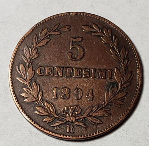 1894 San Marino 5 Centesimi