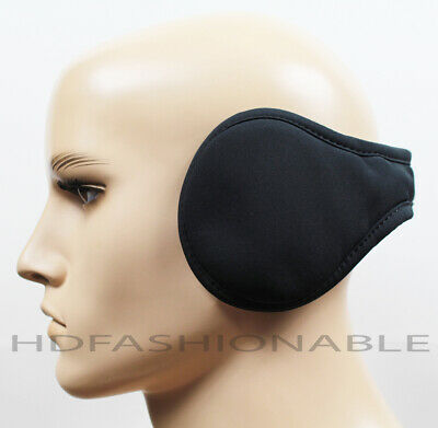 NEW MENS 180S WIND / WATER RESISTANT PRIMALOFT® INSULATION BLACK EAR WARMER