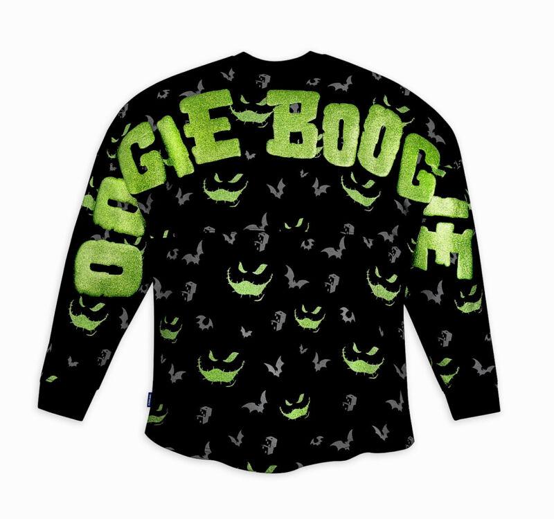 NEW Disney 2021 Nightmare Before Christmas Oogie Boogie Spirit Jersey Adult XL