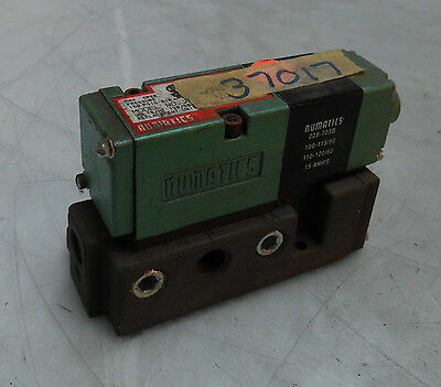 NEW Numatics Solenoid Valve, # 082SA432K,  WARRANTY