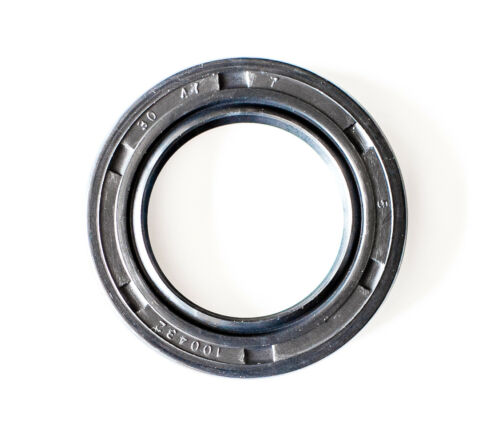 Oil Shaft Seal 30X47X7mm TC  EAI Double Lip w/ Spring. Metal Case w/ NBR Coating