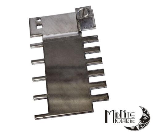MIDNITE SOLAR MNPV12-BUSBAR FINGER BAR FOR 5-FUSES OR 6-BREAKERS