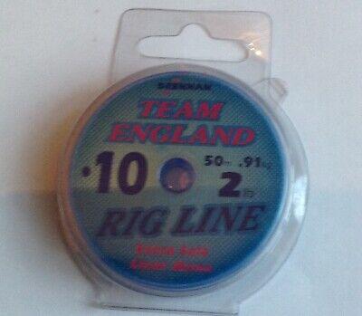 Drennan Team England Rig Line 50mtrs 2lb 0.10mm