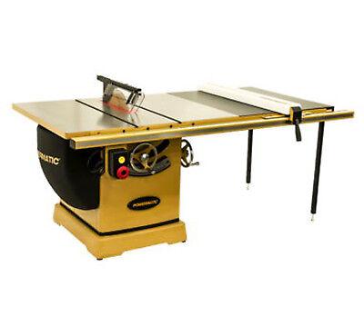 Powermatic 3000b Table Saw 7.5hp 3ph 230460v 50 Rip With Accu-fence Pm375350k