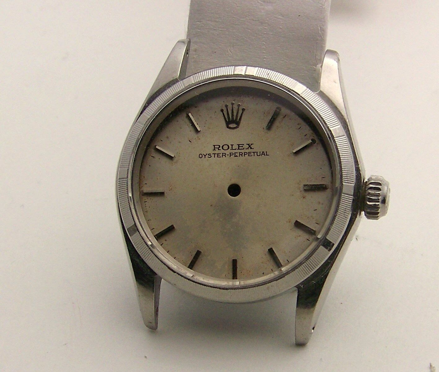 Rolex - Rolex Midsize Stainless Model 6548 ,6549 Oyster Perpetual Case & Dial Circa 1968