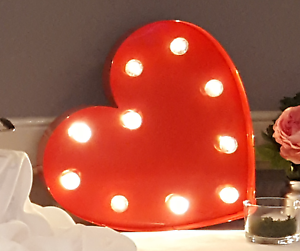 Heart Marquee Light - wedding decor Shellharbour Shellharbour Area Preview