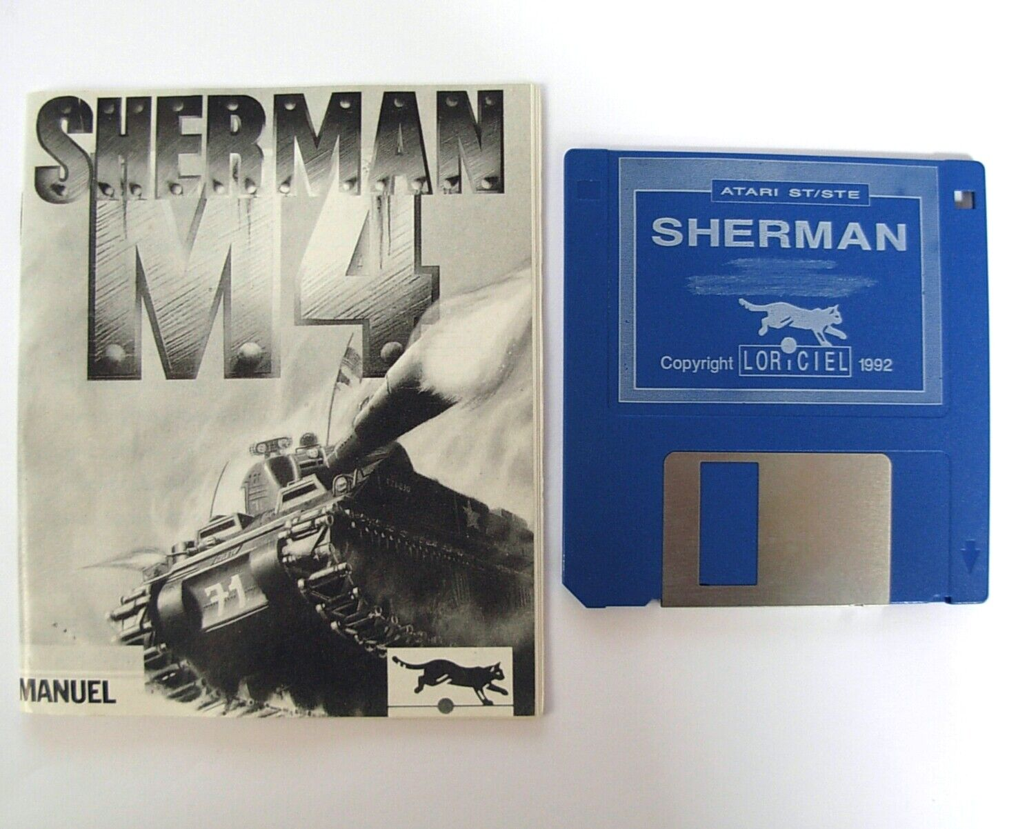 Details about SHERMAN M4 + Game Mod  jeu / game for ATARI ST / STF / STE /  MEGA ST