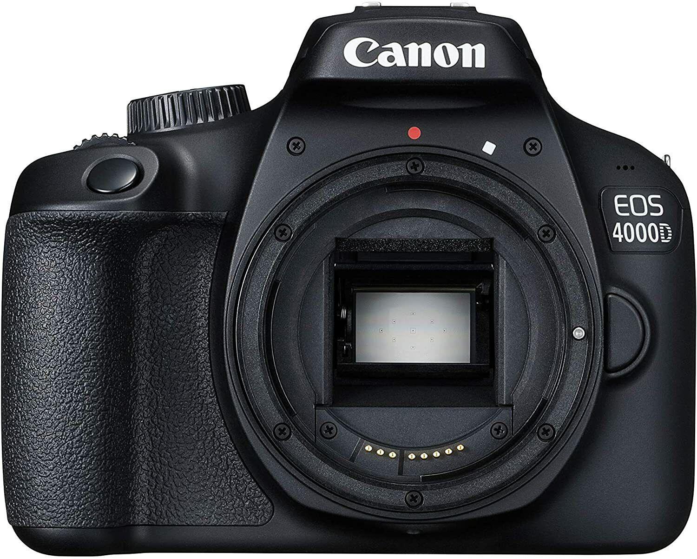 Canon EOS 4000D Gehäuse - Einsteiger Spiegelreflex Kamera - Body - NEU