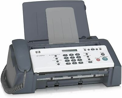 Hp 640 Inkjet Plain Paper Quality Fax Speed Up To 6 Seconds Per Page More