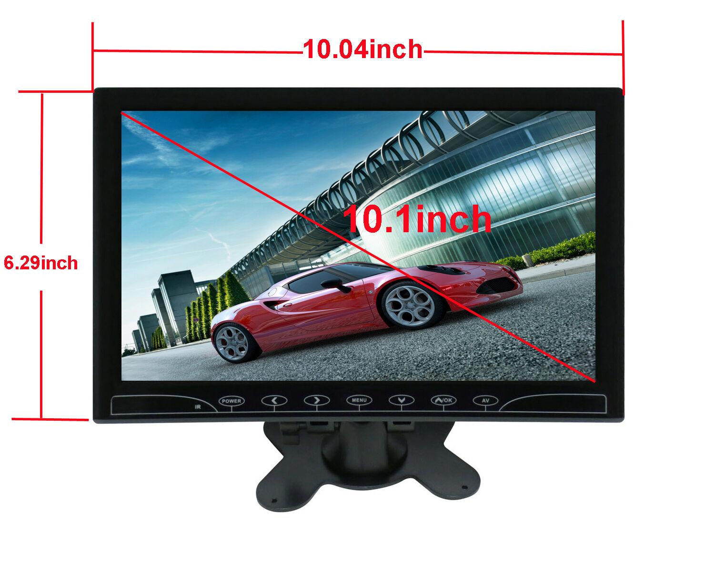 Ultra Thin 10.1/'/' HD 1024*600 TFT LCD Color MP5 USB SD FM Car Rear View Monitor