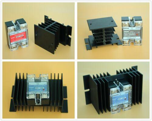 SSR DA DD AA Type Solid State Relay & Alloy Heat Sink 10A 25A 40A 50A 60A AC/DC