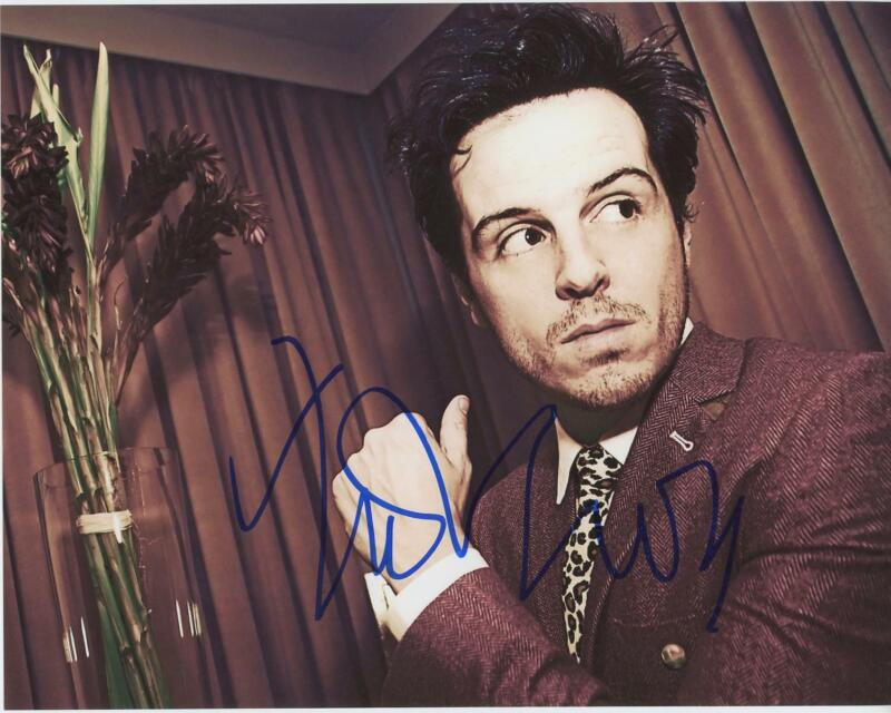 "Andrew Scott ""Sherlock"" AUTOGRAPH Signed 8x10 Photo ACOA"