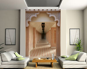 Papier peint g ant 2 l s tapisserie murale d co couloir for Tapisserie pour couloir