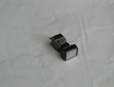 Fuji Electric Illuminated White, Push Button, AH165-TF, Used, Warranty