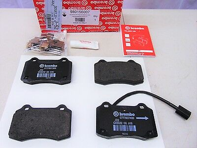 GENUINE MASERATI GHIBLI / QUATTROPORTE REAR BRAKE PAD SET KIT OEM # 980156007