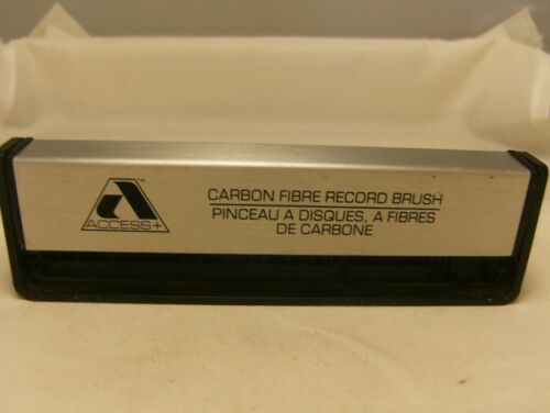 Access Carbon Fibre Record Brush in Good-Shape, Used.