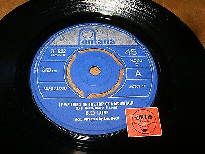 CLEO LAINE - IF WE LIVED ON THE TOP OF A MOUNTAIN     / LISTEN - GIRL POPCORN