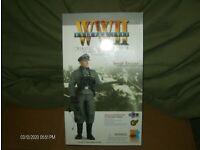 COLLECTORS SHOWCASE WW2 GERMAN CS60010 HARDY KRUGER AS COMMANDE HEINZ HARMEL MIB