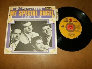 THE-VOGUES-MY-SPECIAL-ANGEL-I-KEEP-IT-HID-45-PS-LISTEN-TEEN-DOO-WOP