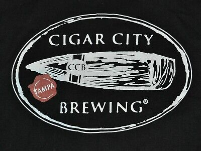 t-shirt large cigar city brewing company tampa bay florida 22 inches pit to pit - Party City Tampa