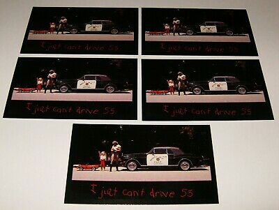 ★★5-1989 ROLLS ROYCE CORNICHE POLICE PHOTO MAGNETS 89 BENTLEY★★