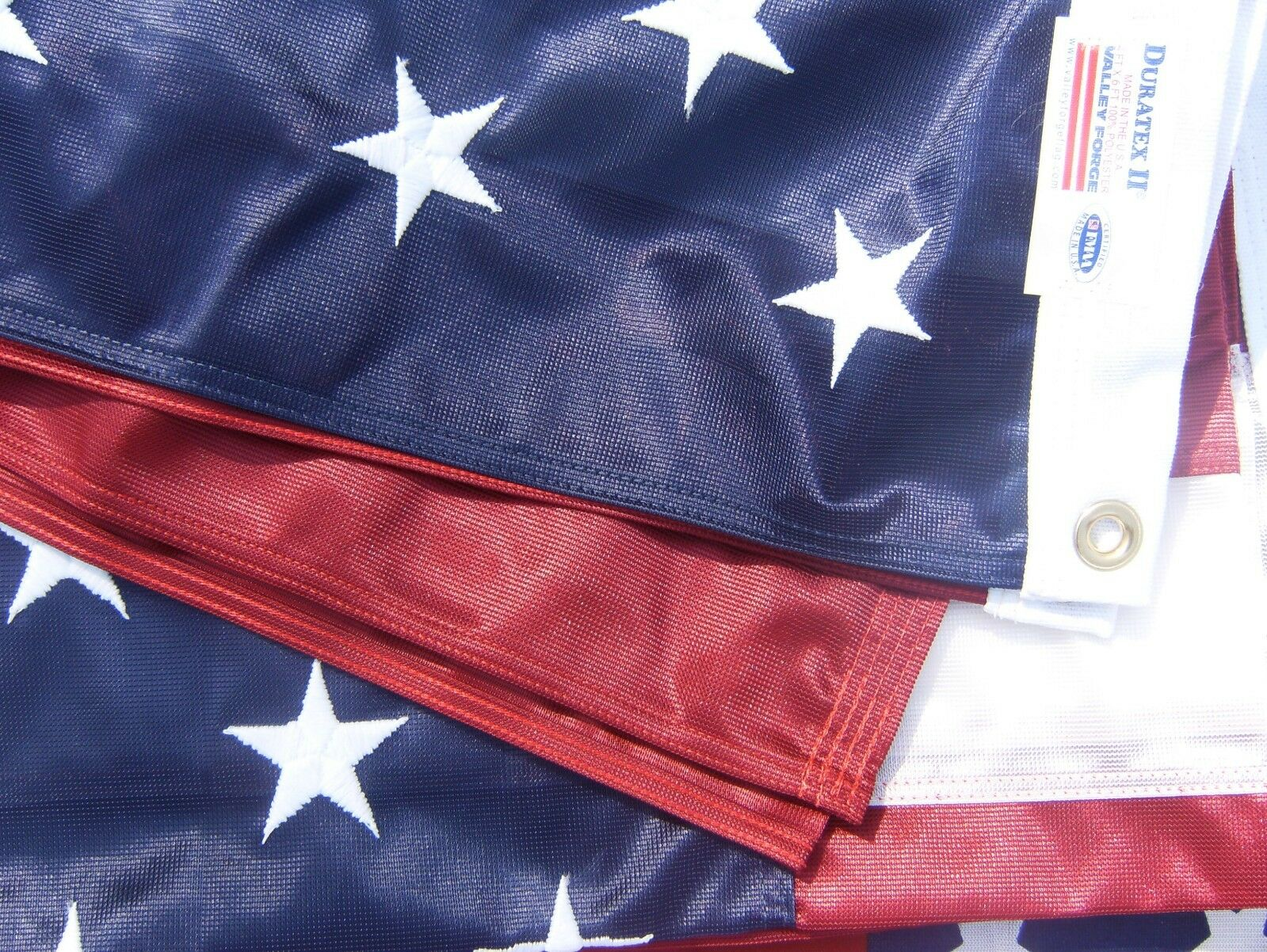 Valley Forge US American Flag 4'x6'  Duratex II Tricot Knit