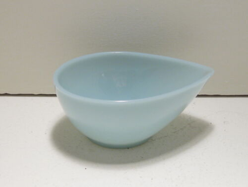 "Fire King Swedish Modern Turquoise Blue 6"" Mixing Bowl"