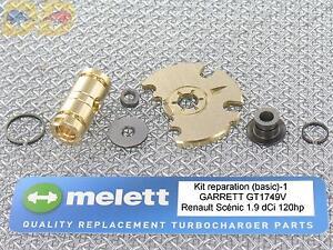 kit reparation turbo garrett sc nic 1 9 dci 120ch gt1749v 2000 2004. Black Bedroom Furniture Sets. Home Design Ideas