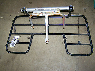 polaris trail boss cyclone 250 87 88 4x4 front luggage rack carrier bumper guard