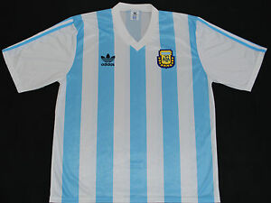 1990-1991 ARGENTINA ADIDAS HOME FOOTBALL SHIRT (SIZE XL)